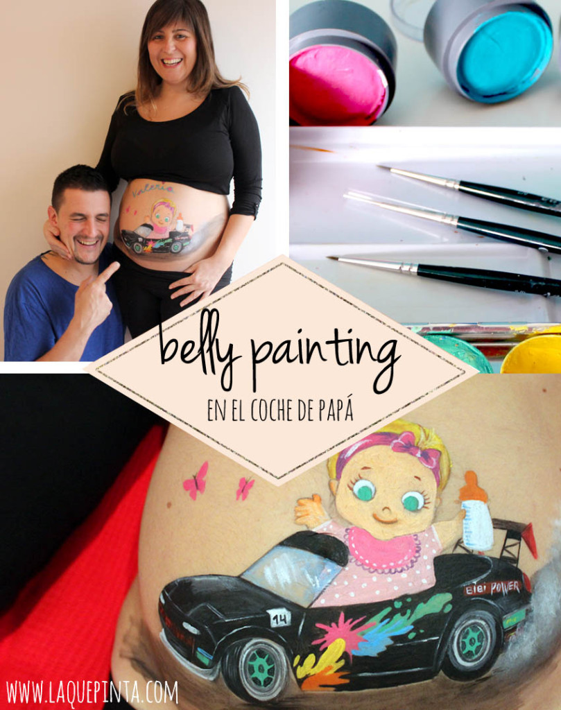 Belly painting de La que pinta Barcelona