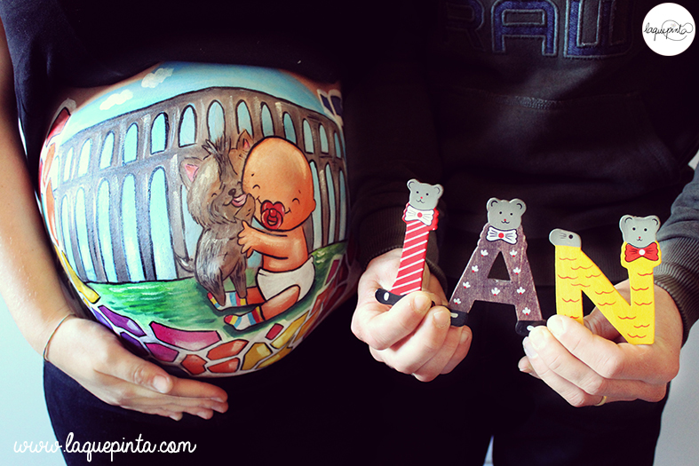 Belly painting Barcelona+Segovia