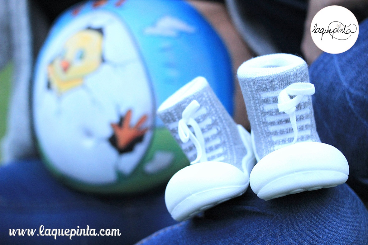 Belly painting de pollito