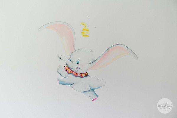 Mural infantil DUMBO