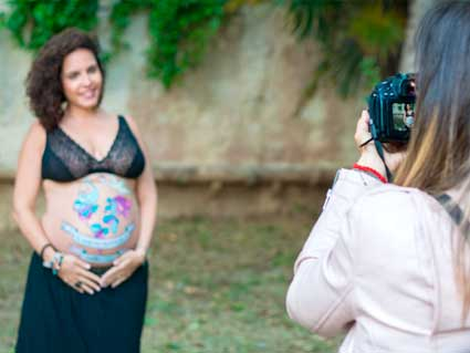 fotos embarazo Belly Painting Barriga Pintada Barcelona