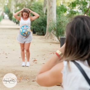 belly painting con fotos