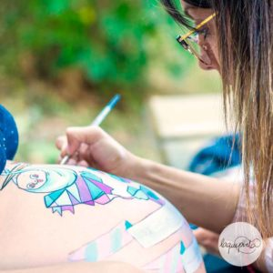 Belly painting -sin fotos-